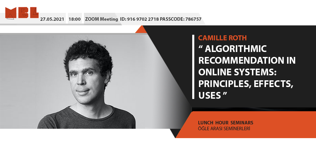 Lunch Hour Seminar: Camille Roth