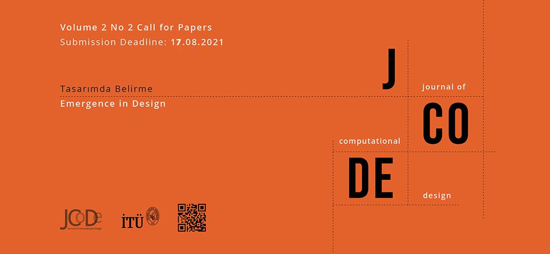 JCoDe Vol. 2 No 2: Emergence in Design
