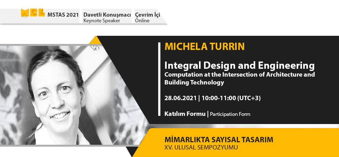 MSTAS 2021 Keynote Speakers: Michela Turrin